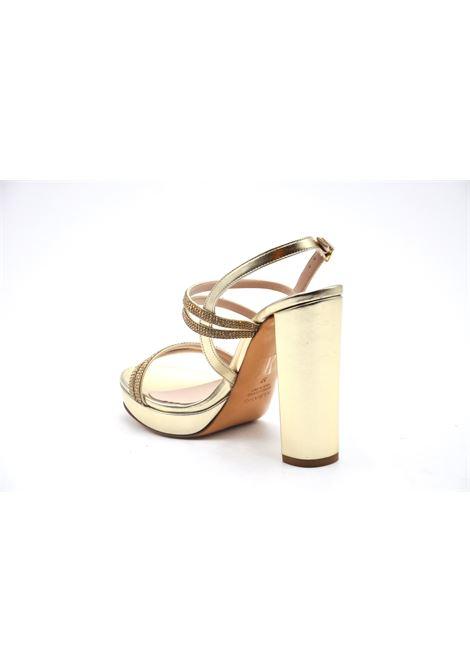 Sandalo oro con strass ALBANO | Sandali | 4002METALPLATINO