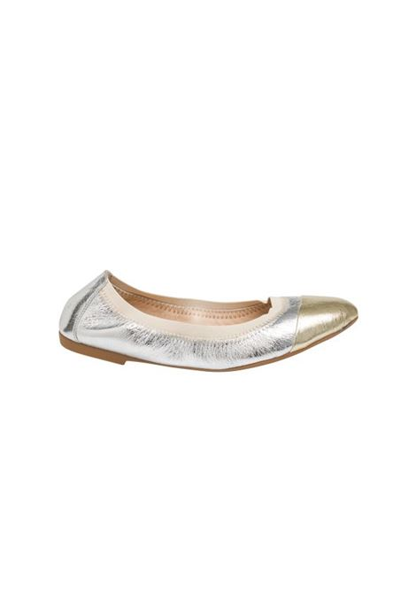 Ballerina argento e platino ALBANO | Sandali | 4072METALARGENTO