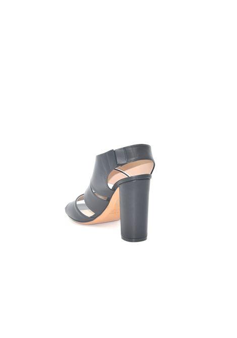 Sandalo nero accollato ALBANO | Sandali | 4134NAPPANERA