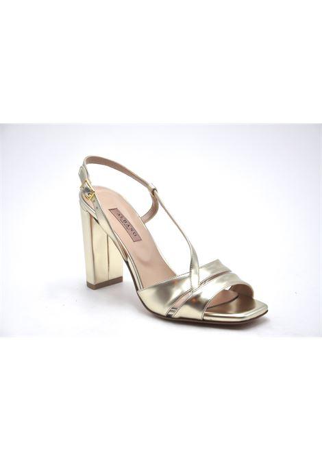 Sandalo oro ALBANO | Sandali | 4154SATINPLATINO