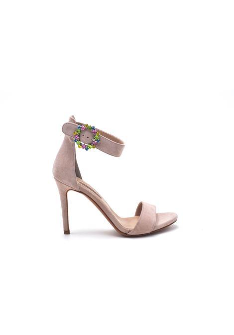 Sandalo cipria con accessorio ALBANO | Sandali | 4166CAMOSCIOCIPRIA