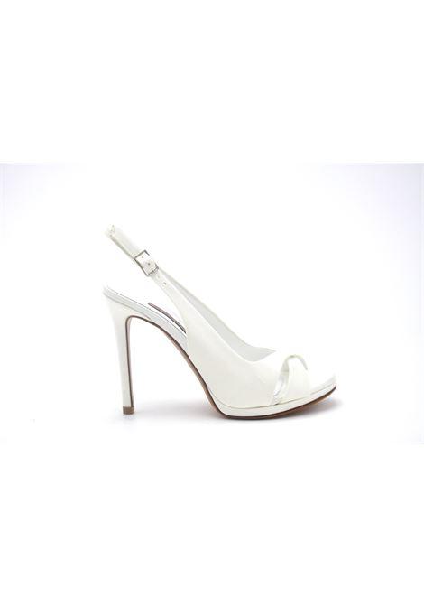 Sandalo sposa con incrocio ALBANO | Sandali | 4205RASOSPOSA