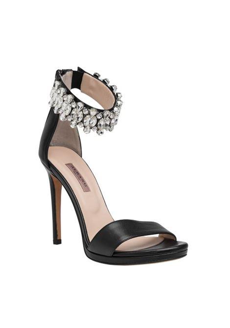Sandalo nero con strass ALBANO | Sandali | 4239SOFTNERO