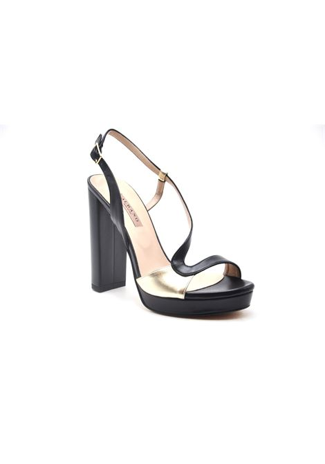 Sandalo nero e oro ALBANO | Sandali | 4257SOFTNERO
