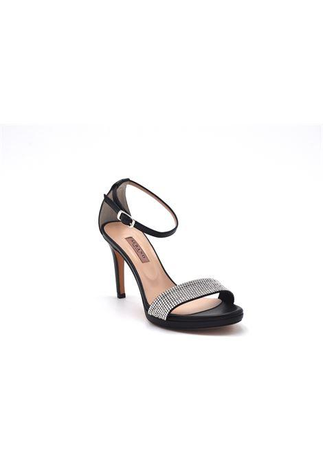 Sandalo nero con strass ALBANO | Sandali | 4282SOFTNERO