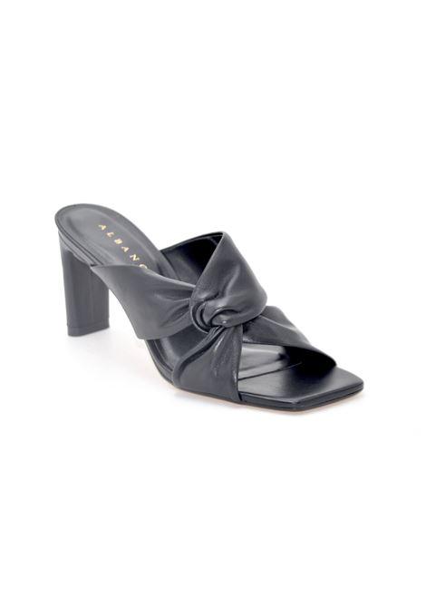 Sandalo a sabot nero ALBANO | Sandali | 76788BLACK