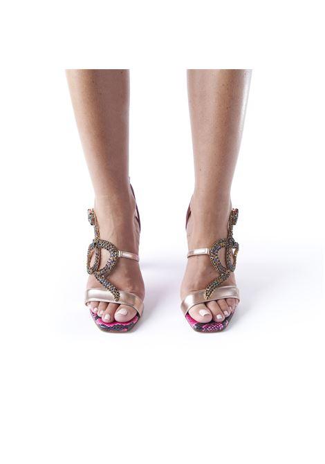 Sandalo con accessorio serpente ALBANO | Sandali | 8028SOFTMETALRAME