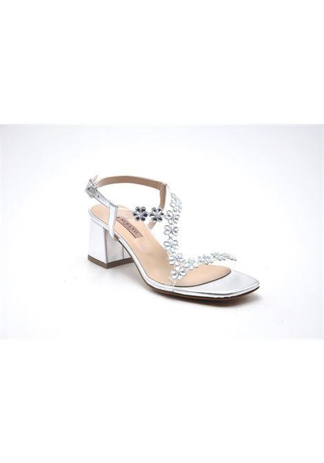 Sandalo argento con strass ALBANO | Sandali | 8043METALARGENTO