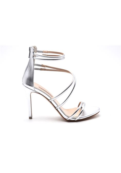 Sandalo argento intrecciato ALBANO | Sandali | 8106METALARGENTO