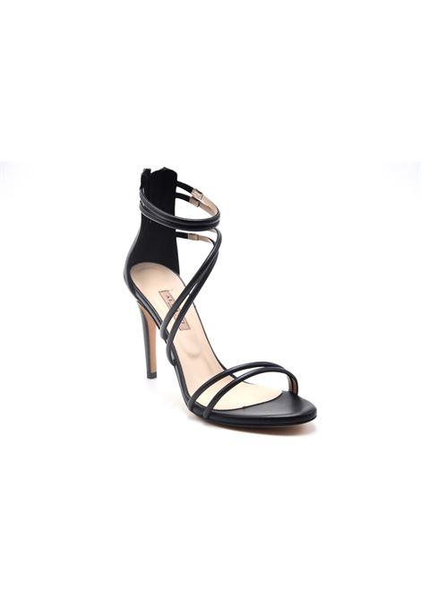 Sandalo nero intrecciato ALBANO | Sandali | 8106SOFTNERO