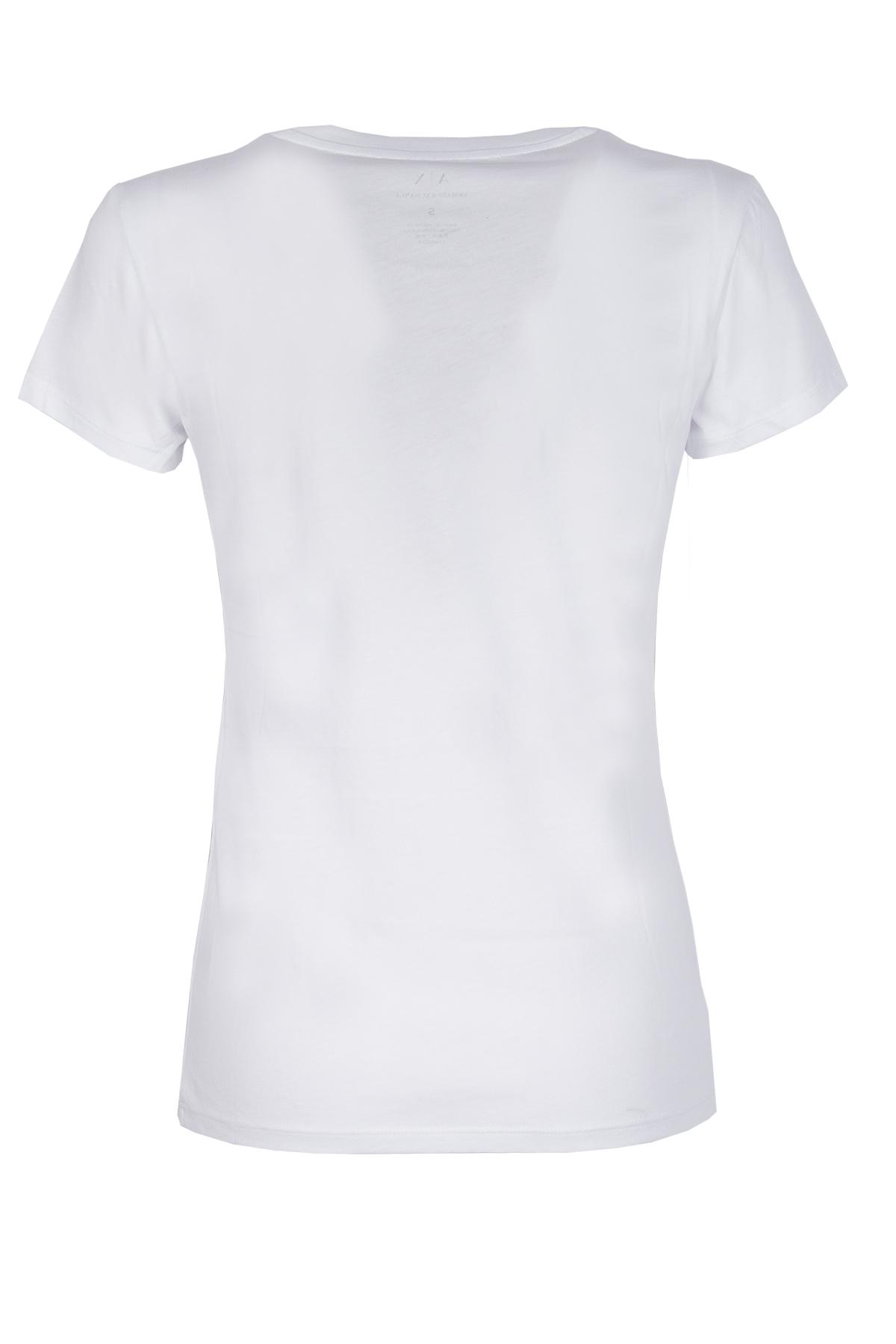 T-SHIRT CON LOGO AX ARMANI EXCHANGE | T-shirt | 3ZYTAPYJA8Z1100WHITE