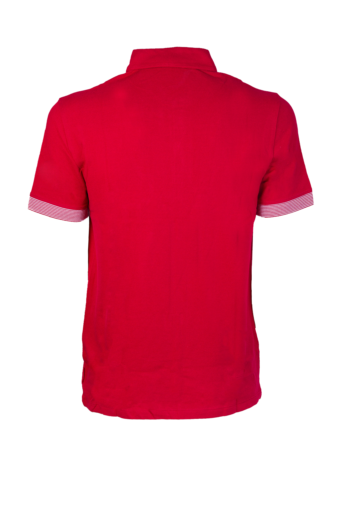 POLO CON MICRO RIGHE AX ARMANI EXCHANGE | Polo | 8NZF73Z8M5Z1435CHILIPEPPER
