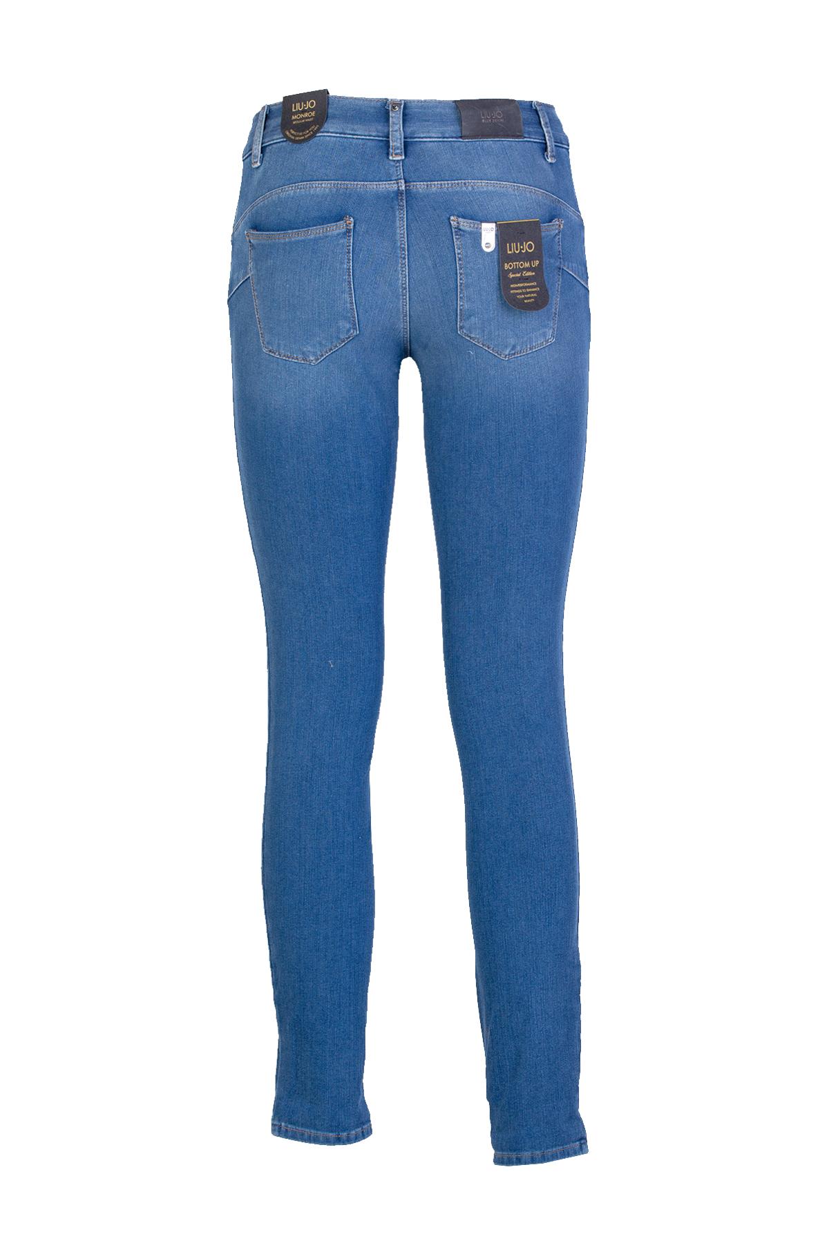 JEANS SHINNY LIU JO BLUE DENIM | Jeans | U18056D419577538DENBLZIPPER