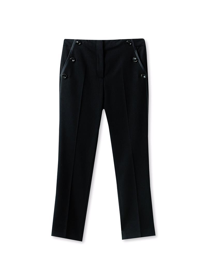 PANTALONE HIGH WAIST LIU JO COLLECTION | Pantalone | C68201T180122222NERO