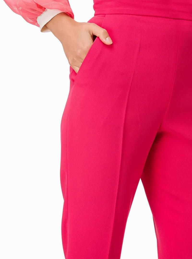 PANTALONE BOUGANVILLE ELISABETTA FRANCHI | Pantalone | PA25891E2T77BOUGANVILLE