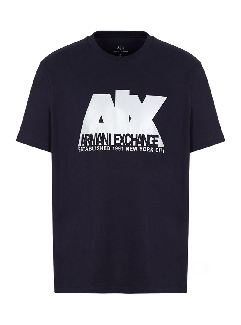 T-SHIRT REGULAR FIT AX ARMANI EXCHANGE | T-shirt | 6GZTGBZJZ8Z1583DEEPNAVY