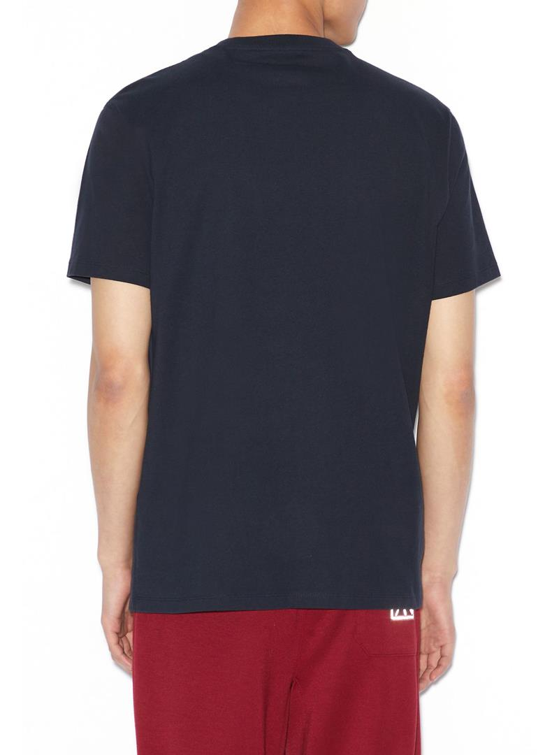 T-SHIRT REGULAR FIT AX ARMANI EXCHANGE   T-shirt   6GZTGBZJZ8Z1583DEEPNAVY