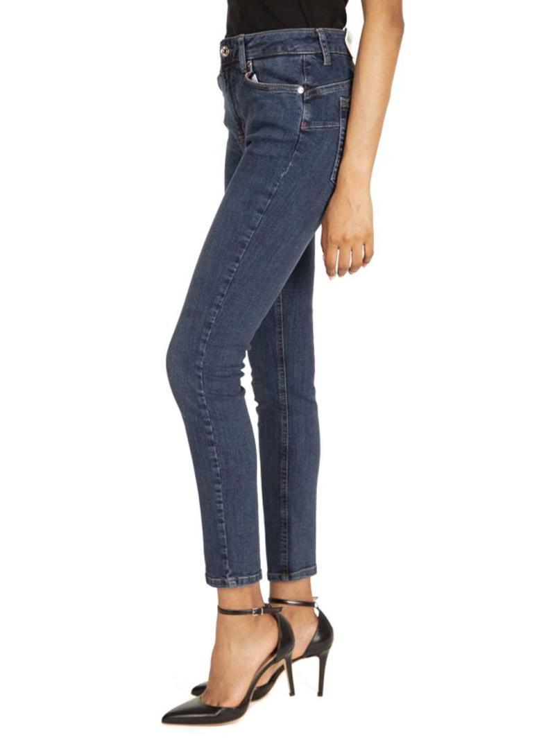 JEANS ELASTICIZZATI A VITA ALTA LIU JO BLUE DENIM | Jeans | U69061D412777411DENBLUE