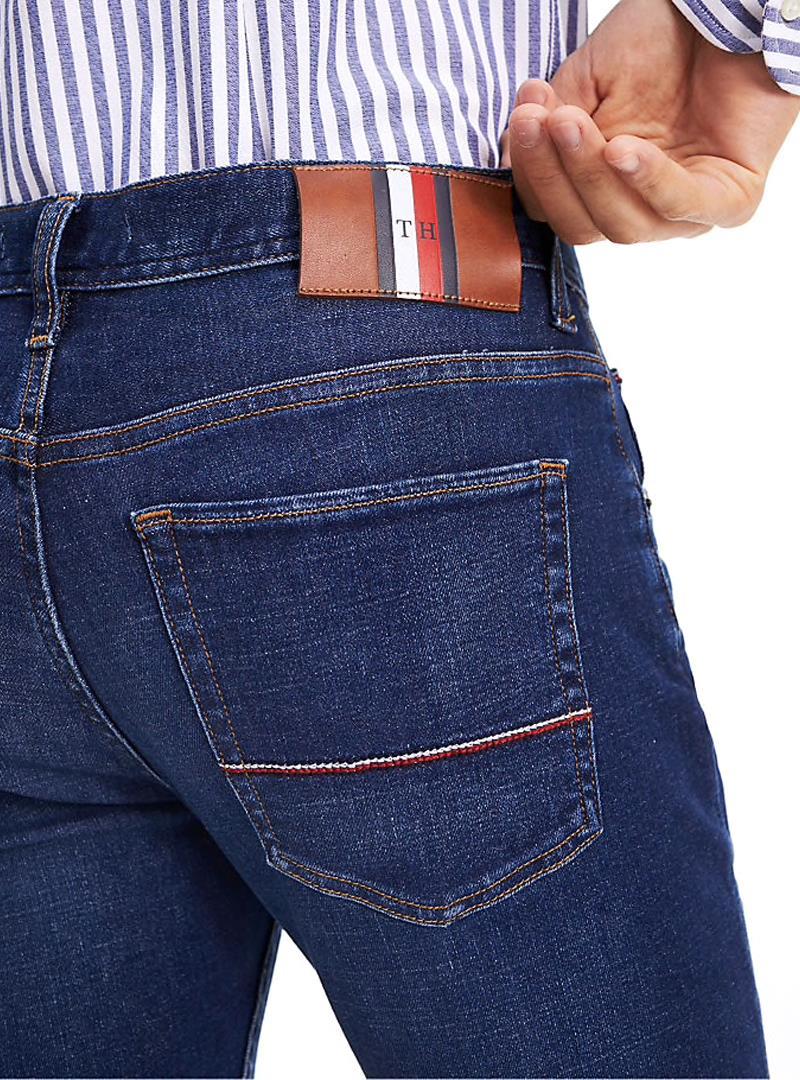 JEANS LAYTON TOMMY HILFIGER | Jeans | MW0MW11727EXTRASLIM1ATLODIBLUE