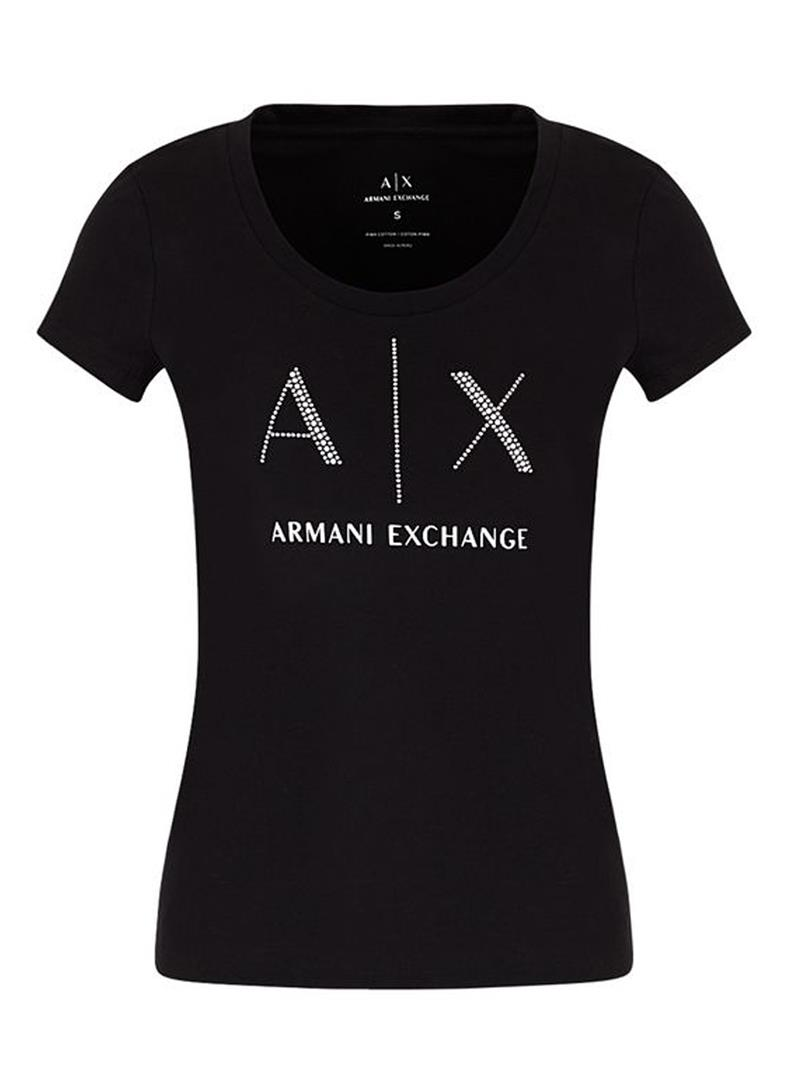 T-SHIRT BLACK AX ARMANI EXCHANGE | T-shirt | 8NYT83YJ16Z1200BLACK