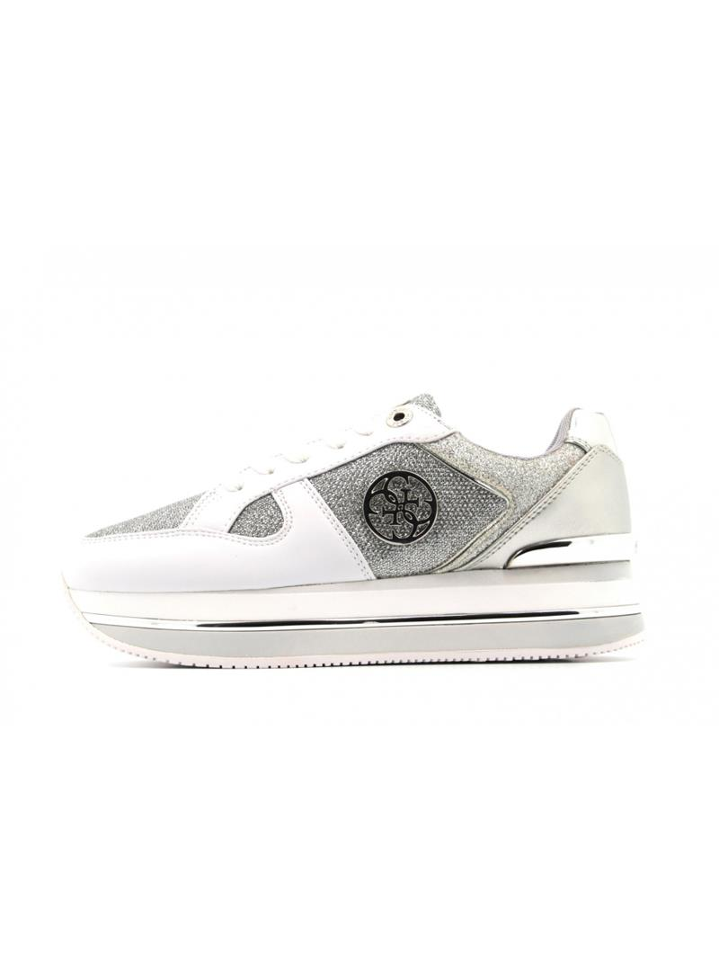 SNEAKERS DEALY ACTIVE GUESS | Sneakers | FL5DLYFAM12WHISIWHITE&SILVER