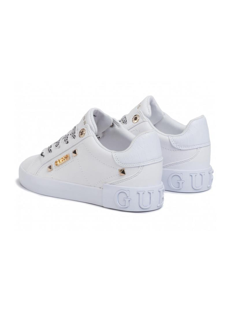SNEAKERS PPXLY ACTIVE GUESS | Sneakers | FL5PUXLEA12WHITE