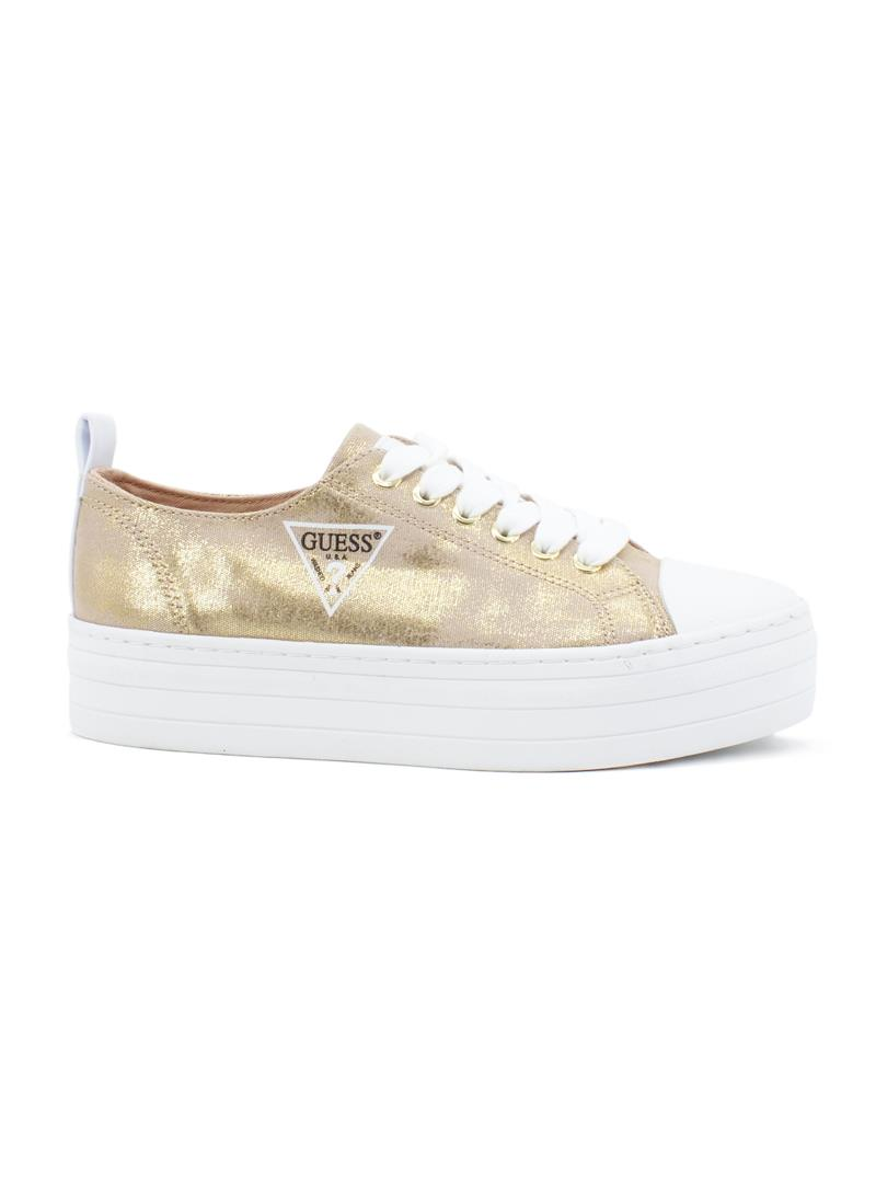 SNEAKERS BRIGS ACTIVE LADY GUESS | Sneakers | FL6BRSFAB12GOLD