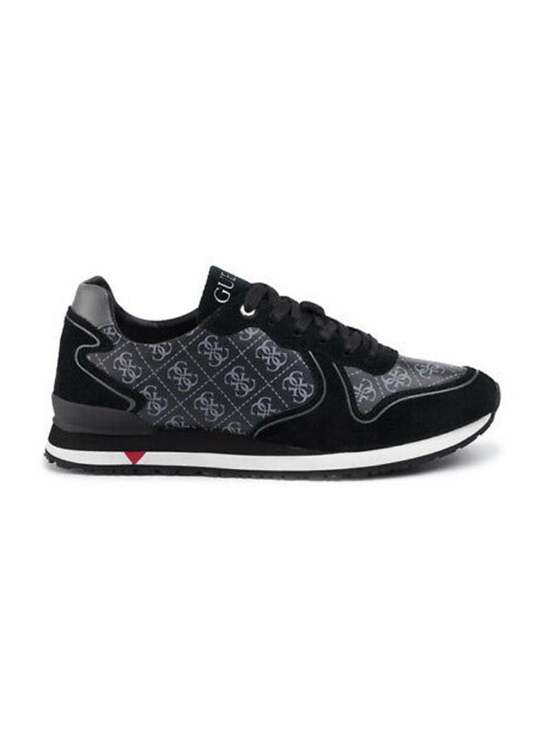 SNEAKERS NEW GLORYM GUESS | Sneakers | FM5NGLFAL12BLACKGREY