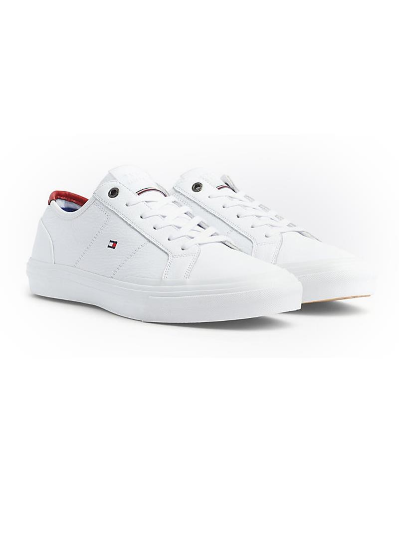 SNEAKERS TH CORE CORPORATE FLAG TOMMY HILFIGER | Sneakers | FM0FM02593YBSWHITE