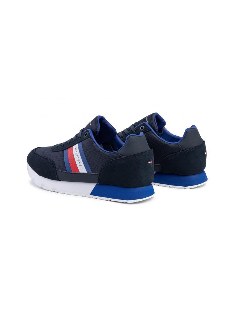 SNEAKERS CORPORATE MIX DI TEXTURE TOMMY HILFIGER | Sneakers | FM0FM02601DW5DESERTSKY