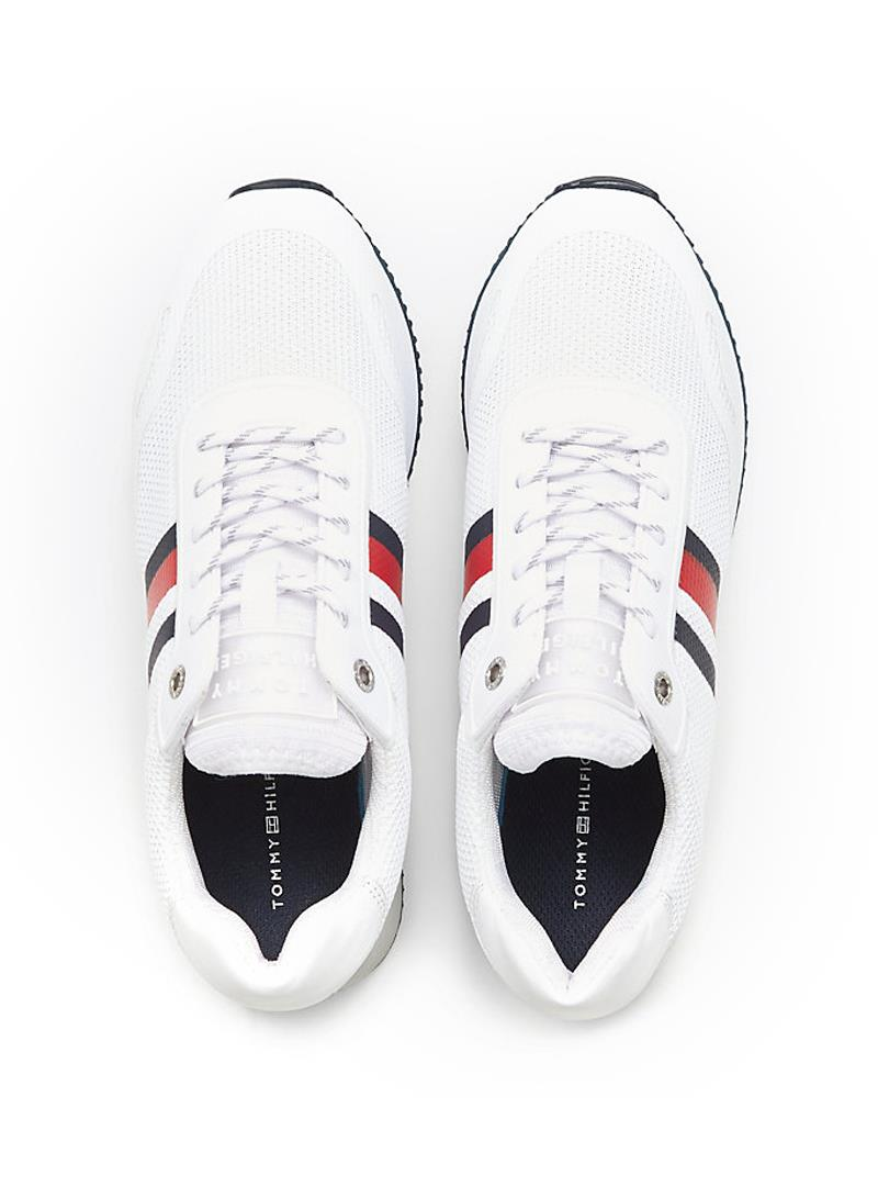 SNEAKERS TOMMY MESH CITY TOMMY HILFIGER   Sneakers   FW0FW04606YBSWHITE