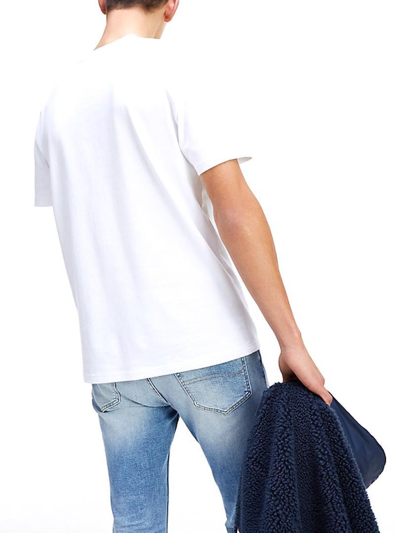 T-SHIRT JM TOMMY FLAG TOMMY JEANS | T-shirt | DM0DM07009YA2CLASSICWHITE