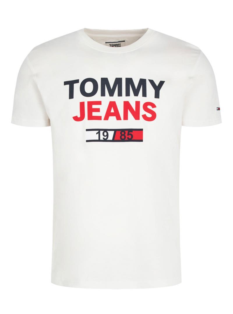 T-SHIRT T JM 1985 TOMMY JEANS | T-shirt | DM0DM07537YA2CLASSICWHITE
