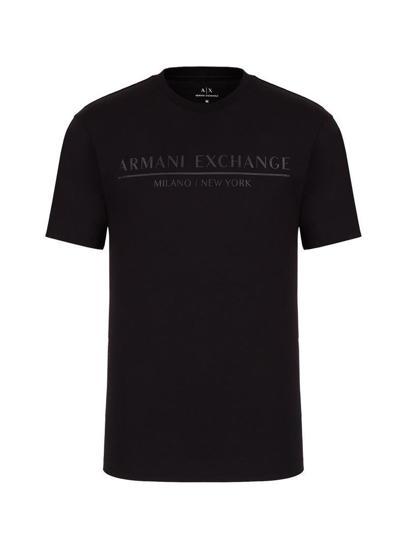 T-SHIRT CON LOGO AX ARMANI EXCHANGE | T-shirt | 6HZTLIZJ9AZ1200BLACK