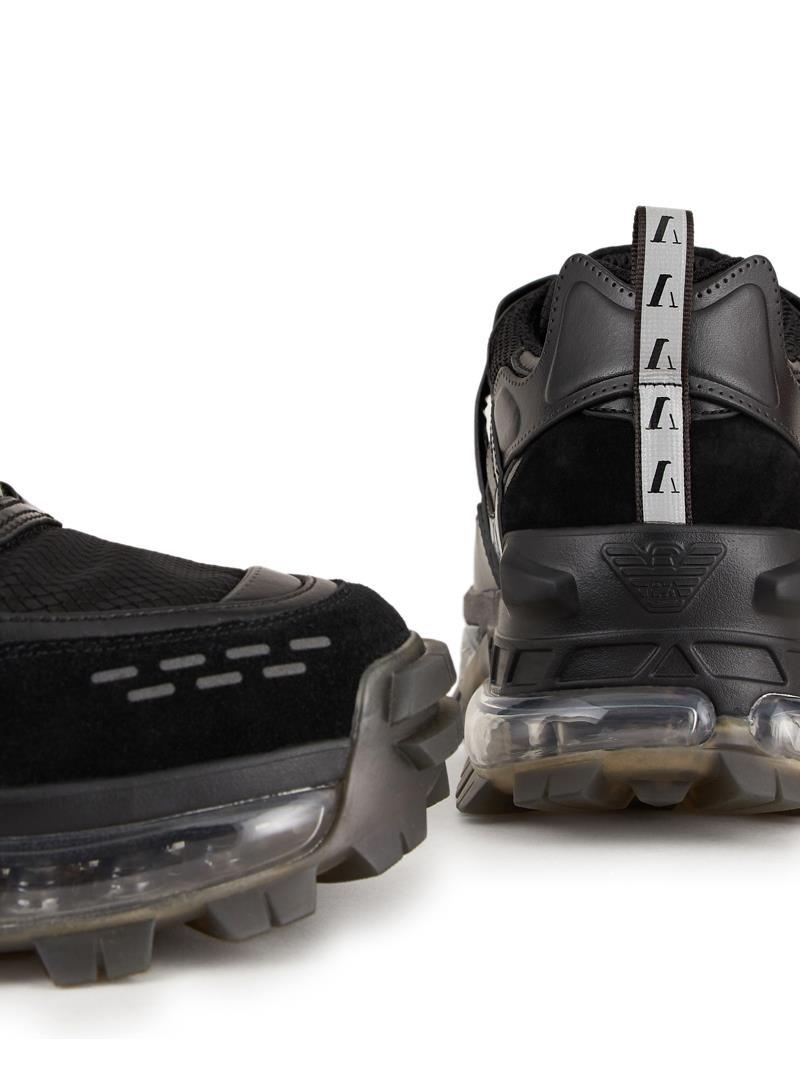 SNEAKERS CHUNKY EMPORIO ARMANI | Sneakers | X4C590XM488M988BLACK