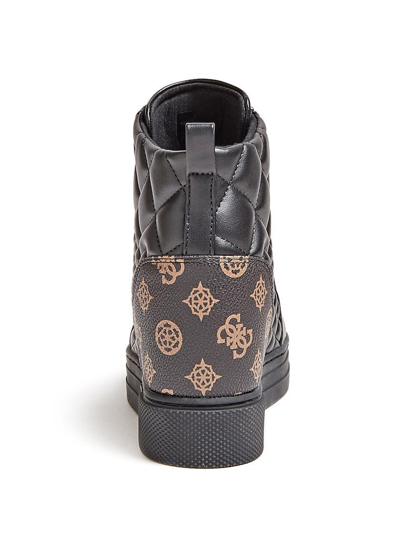 SNEAKER ZEPPA FASE SIMIL PELLE GUESS | Sneakers | FL7FAEFAL12BROWNOCRA