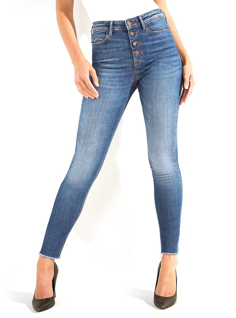 JEANS 1981 EXPOSED BUTTON GUESS | Jeans | W0BA28D46A1BYSWJEANS