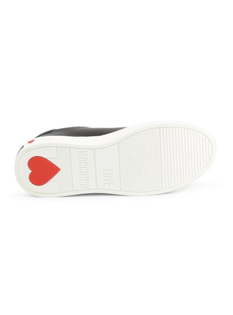 SNEAKERS CASSETTA 35 LOVE MOSCHINO   Sneakers   JA15063G1BIA0000VITNERO