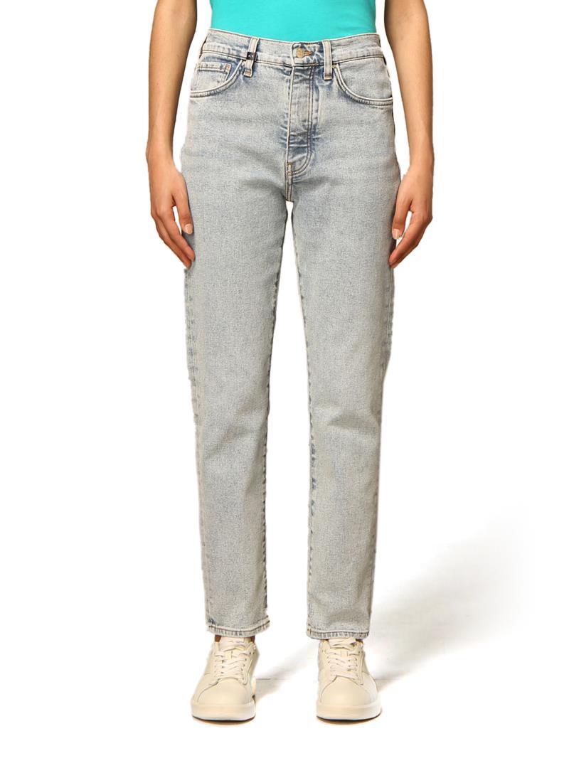 JEANS CARROT IN DENIM WASHED AX ARMANI EXCHANGE   Jeans   3KYJ51Y1CLZ1500DENIM