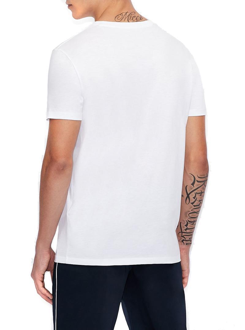 T-SHIRT SLIM FIT AX ARMANI EXCHANGE   T-shirt   3KZTAAZJA5Z1100BIANCO