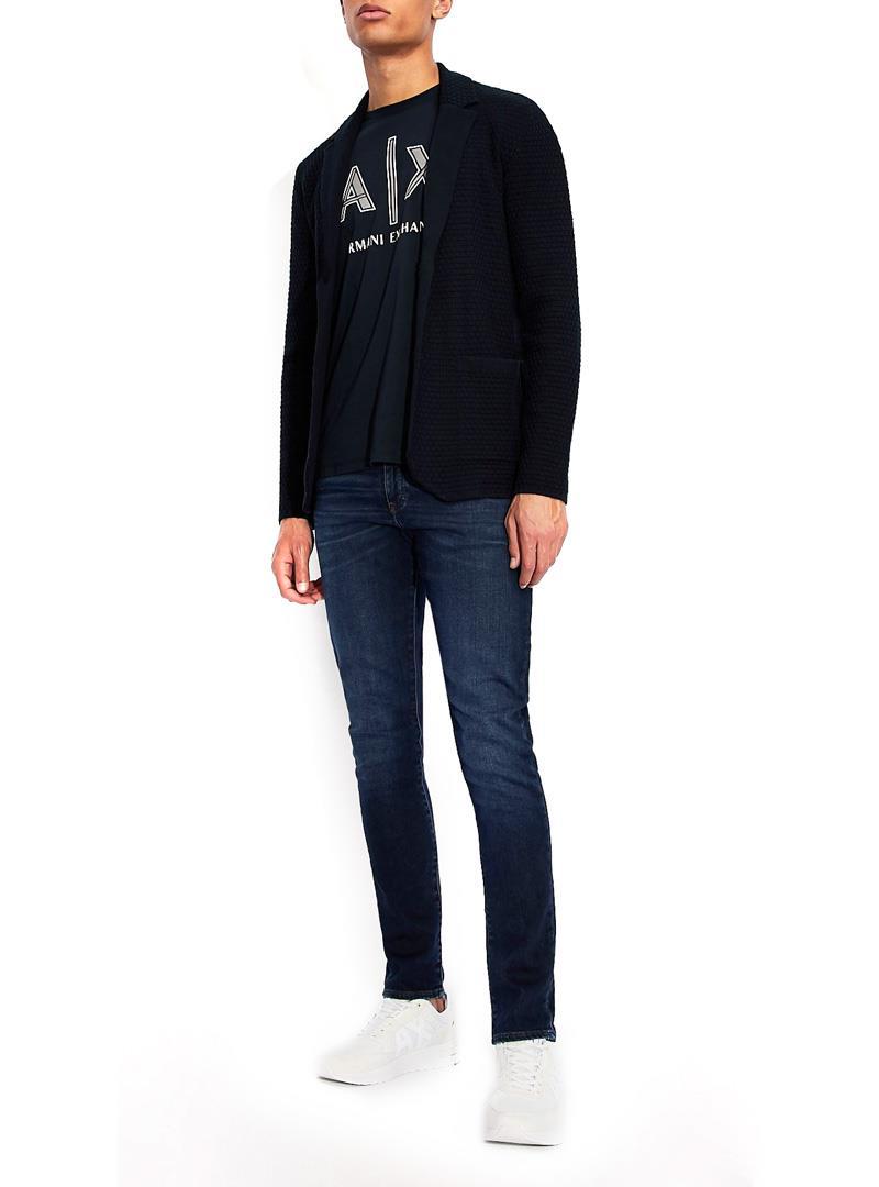T-SHIRT REGULAR FIT AX ARMANI EXCHANGE | T-shirt | 3KZTAFZJ4JZ1510NAVY
