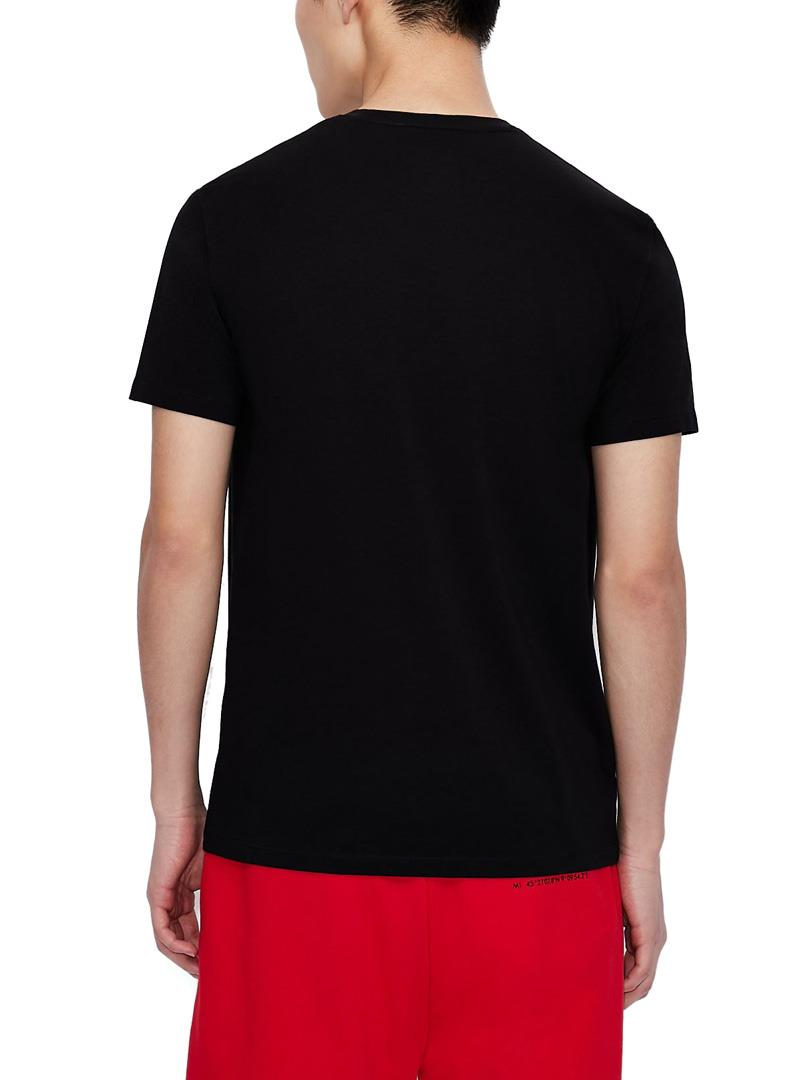 T-SHIRT SLIM FIT AX ARMANI EXCHANGE | T-shirt | 3KZTFAZJE6Z1200BLACK