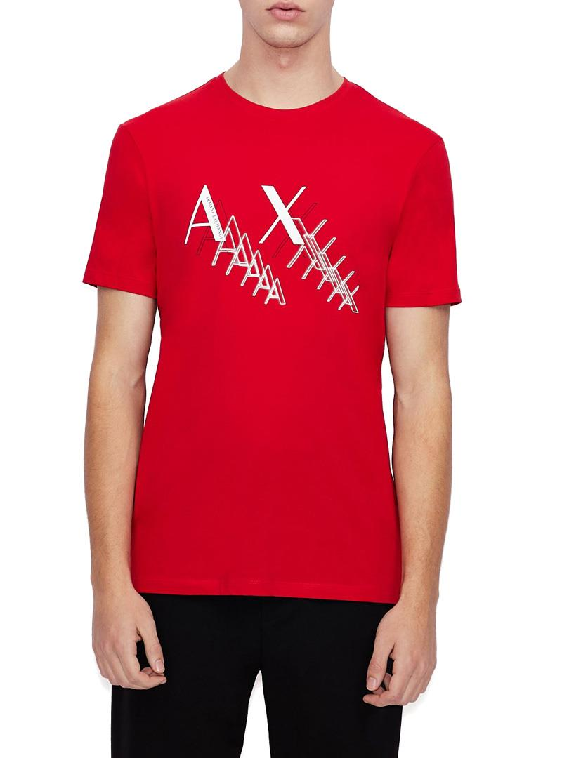T-SHIRT SLIM FIT AX ARMANI EXCHANGE | T-shirt | 3KZTFAZJE6Z1400ABSOLUTERED