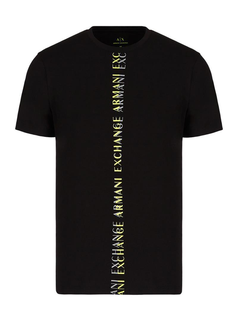 T-SHIRT SLIM FIT AX ARMANI EXCHANGE   T-shirt   3KZTFLZJEAZ1200BLACK