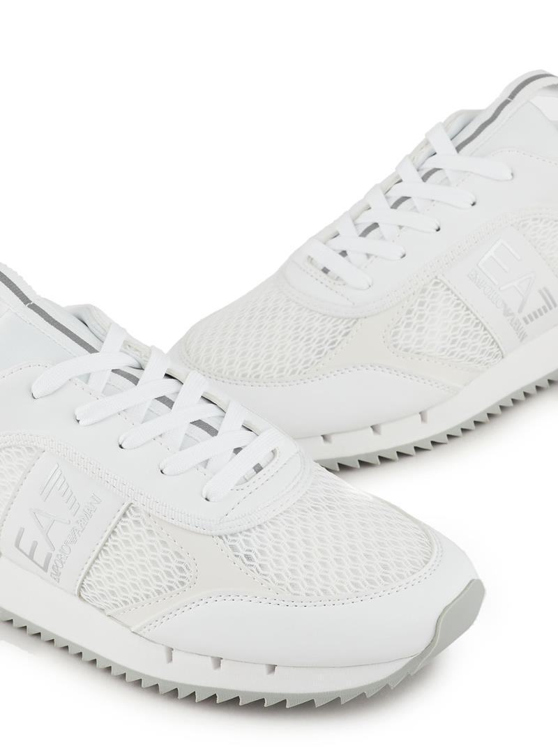 SNEAKERS TESSUTO TECNICO E.A. 7 | Sneakers | X8X027XK05000175WHITESILVER