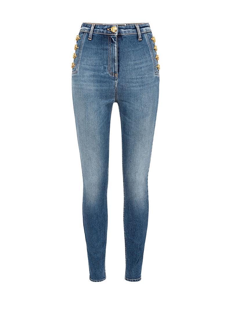 JEANS STRETCH ELISABETTA FRANCHI | Jeans | PJ02I11E2104BLUEDENIM