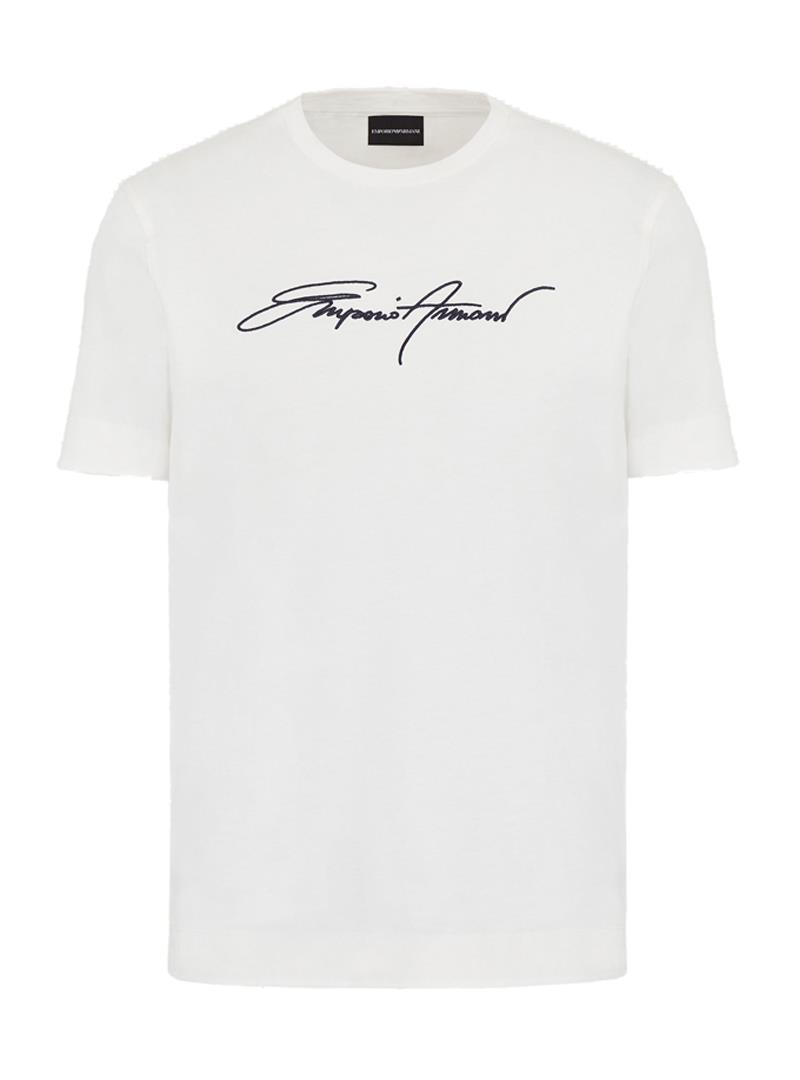 T-SHIRT IN JERSEY EMPORIO ARMANI | T-shirt | 3K1TL61JULZ0101BIANCOCALDO