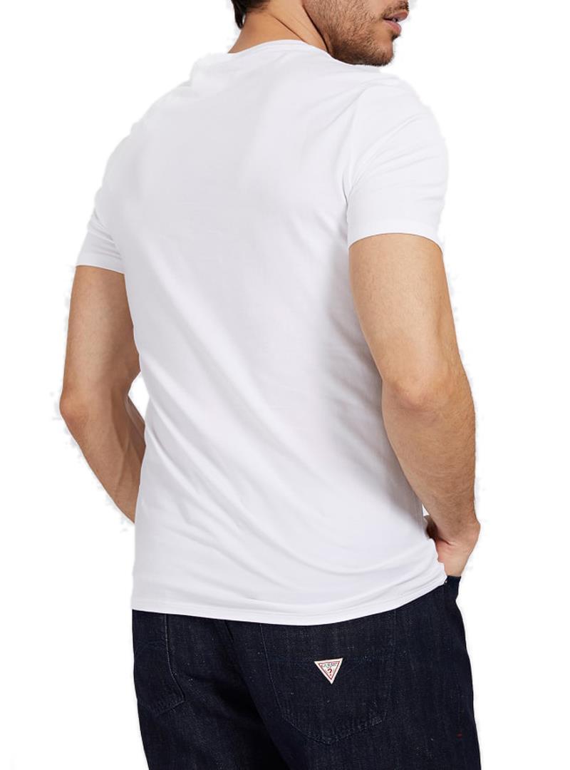 T-SHIRT LOGO FRONTALE GUESS | T-shirt | M1GI78J1311A000WHITE