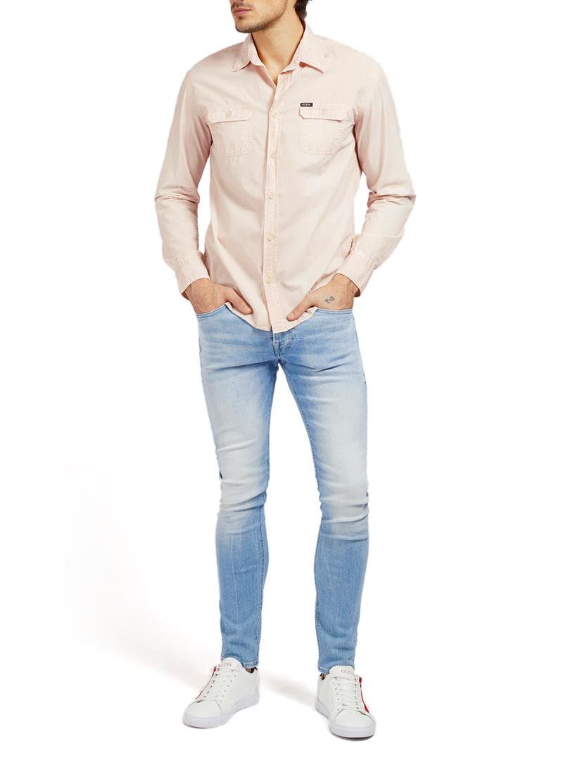 JEANS SKINNY GUESS | Pantalone | M1RAN1D4B73BRE2
