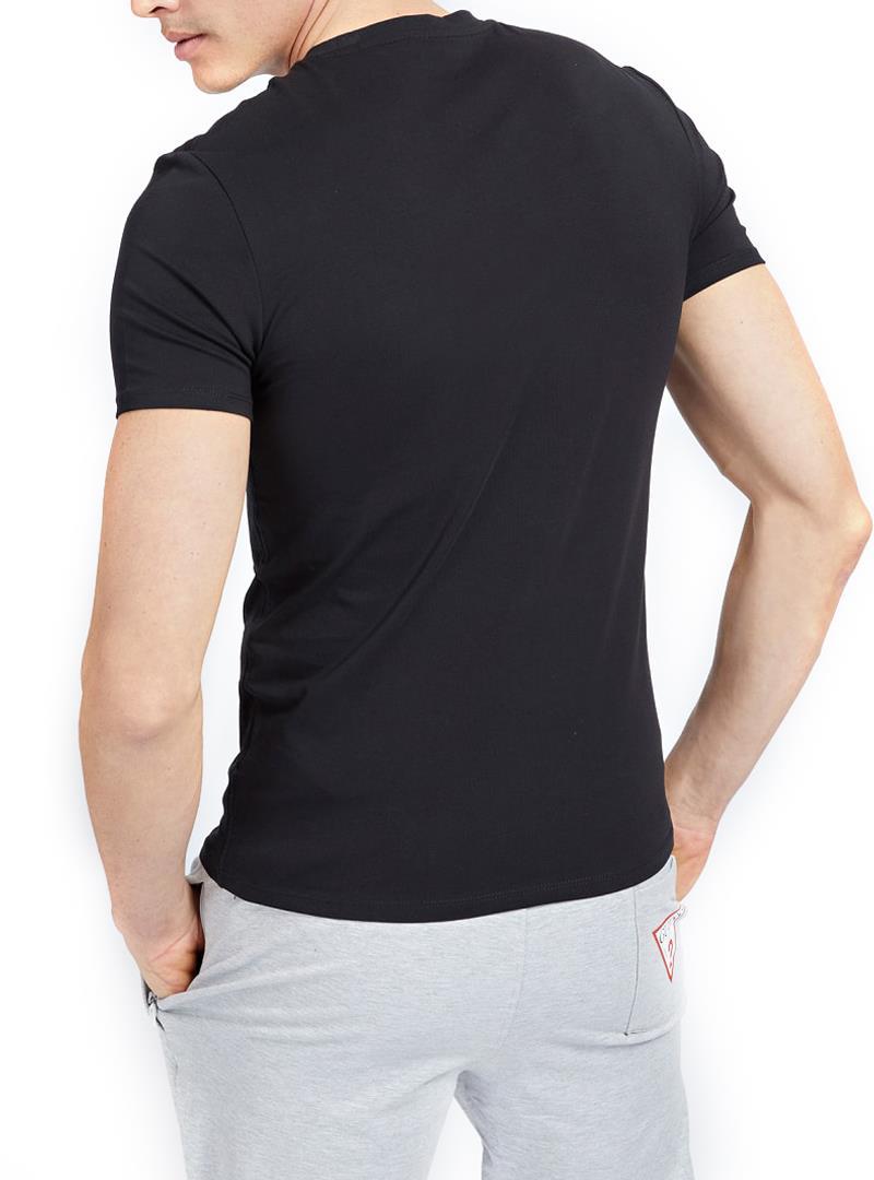 T-SHIRT SUPER SLIM GUESS | T-shirt | M1RI24J1311A996BLACK